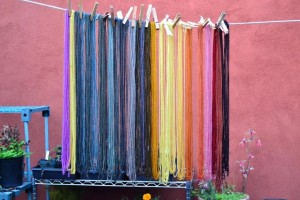 mycopigments.com   dyes from mushrooms.   A workshop I would love to take this summer!